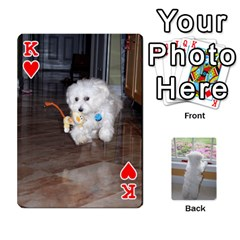 King Playing Cards With Snowy s Photos By Xinpei   Playing Cards 54 Designs   Le6lpxwj0c5h   Www Artscow Com Front - HeartK