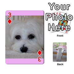 Playing Cards With Snowy s Photos By Xinpei   Playing Cards 54 Designs   Le6lpxwj0c5h   Www Artscow Com Front - Diamond3