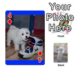 Playing Cards With Snowy s Photos By Xinpei   Playing Cards 54 Designs   Le6lpxwj0c5h   Www Artscow Com Front - Diamond4