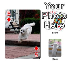 Playing Cards With Snowy s Photos By Xinpei   Playing Cards 54 Designs   Le6lpxwj0c5h   Www Artscow Com Front - Diamond5