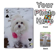 Playing Cards With Snowy s Photos By Xinpei   Playing Cards 54 Designs   Le6lpxwj0c5h   Www Artscow Com Front - Spade5