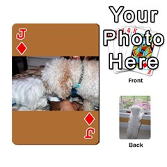 Jack Playing Cards With Snowy s Photos By Xinpei   Playing Cards 54 Designs   Le6lpxwj0c5h   Www Artscow Com Front - DiamondJ
