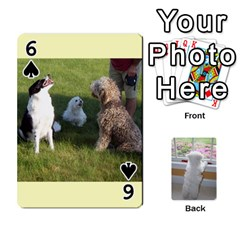 Playing Cards With Snowy s Photos By Xinpei   Playing Cards 54 Designs   Le6lpxwj0c5h   Www Artscow Com Front - Spade6