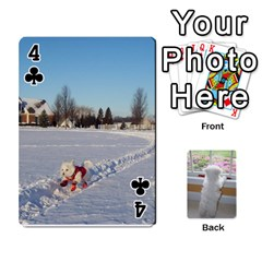 Playing Cards With Snowy s Photos By Xinpei   Playing Cards 54 Designs   Le6lpxwj0c5h   Www Artscow Com Front - Club4