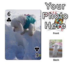 Playing Cards With Snowy s Photos By Xinpei   Playing Cards 54 Designs   Le6lpxwj0c5h   Www Artscow Com Front - Club6
