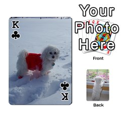 King Playing Cards With Snowy s Photos By Xinpei   Playing Cards 54 Designs   Le6lpxwj0c5h   Www Artscow Com Front - ClubK