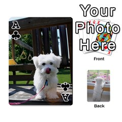 Ace Playing Cards With Snowy s Photos By Xinpei   Playing Cards 54 Designs   Le6lpxwj0c5h   Www Artscow Com Front - ClubA