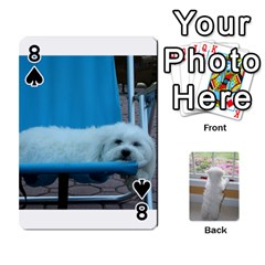 Playing Cards With Snowy s Photos By Xinpei   Playing Cards 54 Designs   Le6lpxwj0c5h   Www Artscow Com Front - Spade8