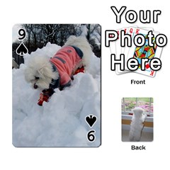 Playing Cards With Snowy s Photos By Xinpei   Playing Cards 54 Designs   Le6lpxwj0c5h   Www Artscow Com Front - Spade9