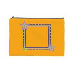 Little Star L Cosmetic Bag By Daniela   Cosmetic Bag (large)   Jbrbuntk85bx   Www Artscow Com Front