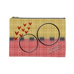 Love U L cosmetic bag - Cosmetic Bag (Large)