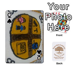 Queen Family Reunion 5 5 By Tomika Holmes   Playing Cards 54 Designs   Fofxrre36krs   Www Artscow Com Front - SpadeQ