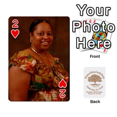 Family Reunion 5 5 By Tomika Holmes   Playing Cards 54 Designs   Fofxrre36krs   Www Artscow Com Front - Heart2
