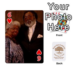 Family Reunion 5 5 By Tomika Holmes   Playing Cards 54 Designs   Fofxrre36krs   Www Artscow Com Front - Heart6