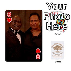 Family Reunion 5 5 By Tomika Holmes   Playing Cards 54 Designs   Fofxrre36krs   Www Artscow Com Front - Heart8