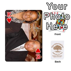 King Family Reunion 5 5 By Tomika Holmes   Playing Cards 54 Designs   Fofxrre36krs   Www Artscow Com Front - HeartK