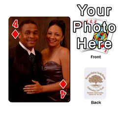 Family Reunion 5 5 By Tomika Holmes   Playing Cards 54 Designs   Fofxrre36krs   Www Artscow Com Front - Diamond4