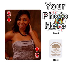 Family Reunion 5 5 By Tomika Holmes   Playing Cards 54 Designs   Fofxrre36krs   Www Artscow Com Front - Diamond5