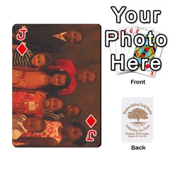 Jack Family Reunion 5 5 By Tomika Holmes   Playing Cards 54 Designs   Fofxrre36krs   Www Artscow Com Front - DiamondJ