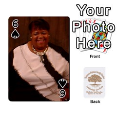Family Reunion 5 5 By Tomika Holmes   Playing Cards 54 Designs   Fofxrre36krs   Www Artscow Com Front - Spade6