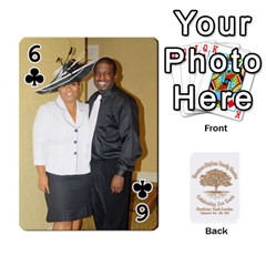 Family Reunion 5 5 By Tomika Holmes   Playing Cards 54 Designs   Fofxrre36krs   Www Artscow Com Front - Club6