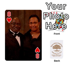 2010 Thompson Stephens Family Reunion  By Tomika Holmes   Playing Cards 54 Designs   Xbxgu8wdb09k   Www Artscow Com Front - Heart8