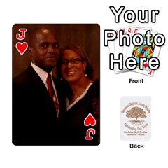 Jack 2010 Thompson Stephens Family Reunion  By Tomika Holmes   Playing Cards 54 Designs   Xbxgu8wdb09k   Www Artscow Com Front - HeartJ