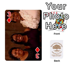 2010 Thompson Stephens Family Reunion  By Tomika Holmes   Playing Cards 54 Designs   Xbxgu8wdb09k   Www Artscow Com Front - Diamond3