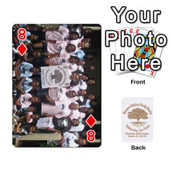 2010 Thompson Stephens Family Reunion  By Tomika Holmes   Playing Cards 54 Designs   Xbxgu8wdb09k   Www Artscow Com Front - Diamond8