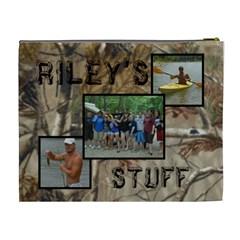 Riley By Charlotte Ferrill   Cosmetic Bag (xl)   045wrdxvvan8   Www Artscow Com Back