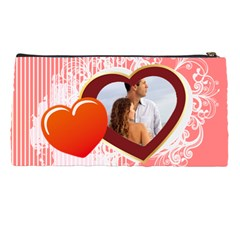 Love Is Forever By Wood Johnson   Pencil Case   Wthju4q6zy88   Www Artscow Com Back