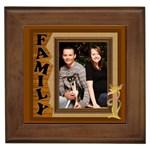 Our Family Framed Tile