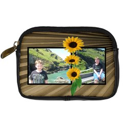 Sunny Days Camera Case By Catvinnat   Digital Camera Leather Case   Cgdtk9xsxn33   Www Artscow Com Front