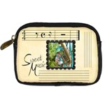 Sweet Music camera case - Digital Camera Leather Case