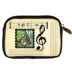 Sweet Music Camera Case By Catvinnat   Digital Camera Leather Case   Wwgk08g0a4ab   Www Artscow Com Back