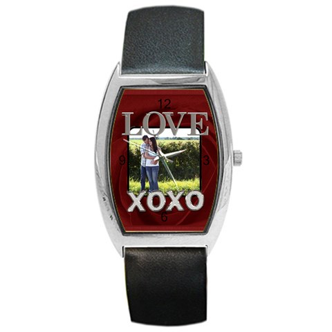 Xoxo Barrel Style Metal Watch By Lil    Barrel Style Metal Watch   Rjwdn24i2bz9   Www Artscow Com Front