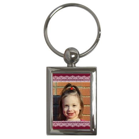 Nora2 By Jonna    Key Chain (rectangle)   5r3p9itdeay0   Www Artscow Com Front