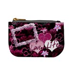Love Life Purple Mini Coin Purse