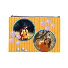 Templ Cosmetic Bag Large By Galya   Cosmetic Bag (large)   Hu8n8jp3vs4h   Www Artscow Com Front