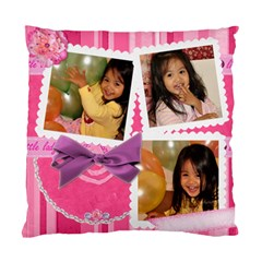 Cushion Case Little Lady By Angel   Standard Cushion Case (two Sides)   P2wyp6vsvult   Www Artscow Com Front