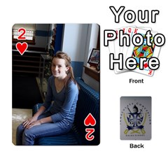 Room 19 Final By Tatyana Schierl   Playing Cards 54 Designs   G71ruqcetty3   Www Artscow Com Front - Heart2