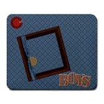 The Boys of Fall Mousepad 1 - Large Mousepad