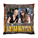 Friends Framed Sunset Cushion Cover (1 Sided) - Standard Cushion Case (One Side)