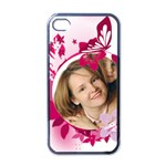 Kid of flowrer - Apple iPhone 4 Case (Black)
