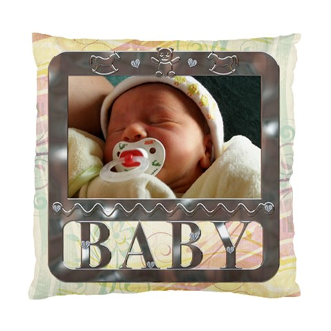 Baby Cushion Case (1 Sided) By Lil    Standard Cushion Case (one Side)   6urjk9ld95nq   Www Artscow Com Front