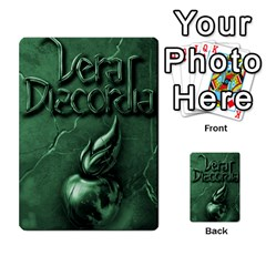 Vera Discordia Akerith By John Sein   Multi Purpose Cards (rectangle)   28vrbu42b78h   Www Artscow Com Back 51
