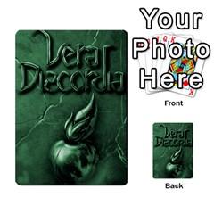 Vera Discordia Akerith By John Sein   Multi Purpose Cards (rectangle)   28vrbu42b78h   Www Artscow Com Back 45