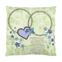 In Memory/loss/death Custom Cushion Case (two Sides)  By Mikki   Standard Cushion Case (two Sides)   C0zfn324xuh6   Www Artscow Com Front