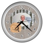 Time for a rest - Wall Clock (Silver)