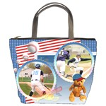 baseball1 - Bucket Bag